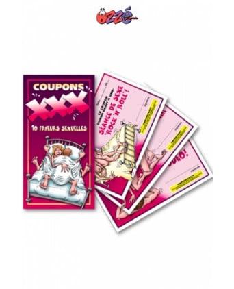 Coupons XXX - Jeux couple