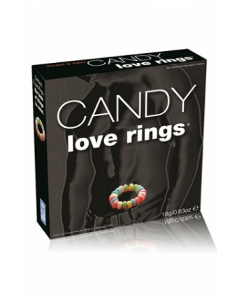 Candy love rings - Accessoires coquins