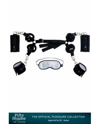 Kit d'attaches pour lit - Fifty Shades Of Grey - Accessoires SM