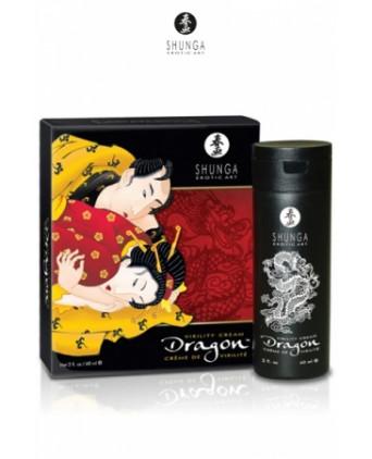 Crème de virilité Dragon - Shunga - Aphrodisiaques homme
