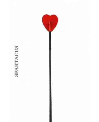 Cravache coeur Spartacus - Fouets, cravaches