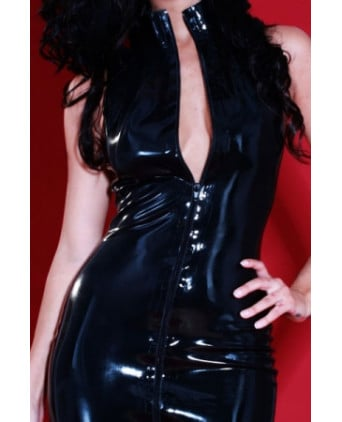 Robe latex Flash-Back - Robes sexy