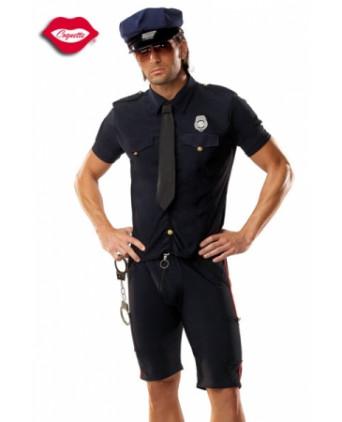 Costume Policeman - Déguisements homme
