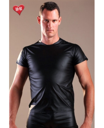 Tee Shirt faux cuir - T-shirts