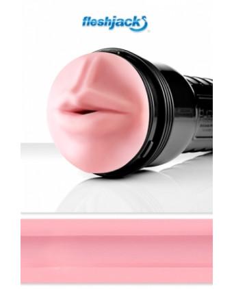 Fleshjack Pink Mouth Original - Masturbateur Fleshlight