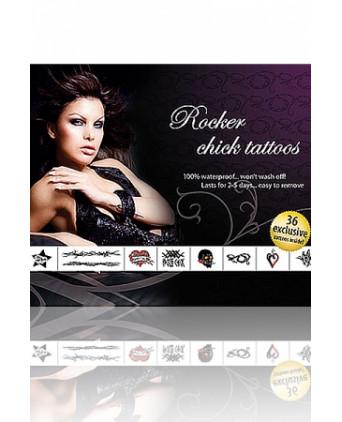Tatouages Rocker Chick - Accessoires coquins