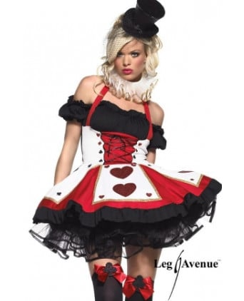 Costume Pretty playing Card - Déguisements femme