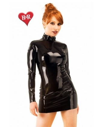 Robe Midnight latex - Robes sexy