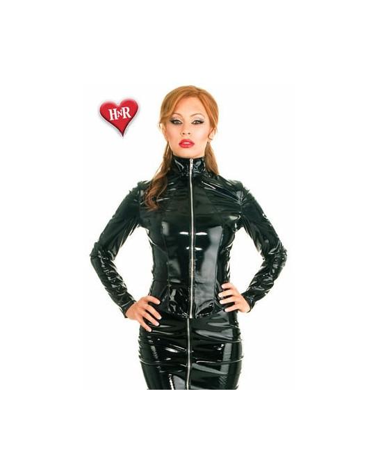 Veste Fitted vinyle - Lingerie vinyle femme