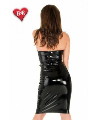 Jupe zippée Natalie vinyle - Jupes sexy
