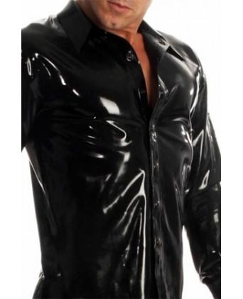 Chemise Rubber Shirt latex - Lingerie vinyle homme