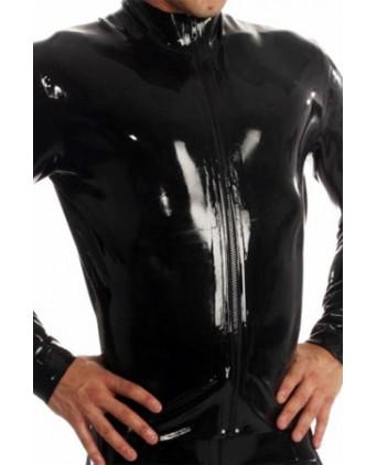Veste Zip Jacket latex - Lingerie vinyle homme