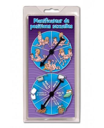Planificateur de Positions Amoureuses - Jeux couple