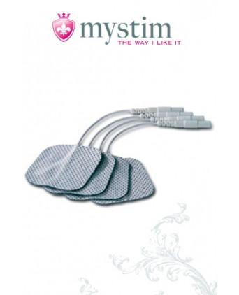 Mystim Electrodes (square) - Électro-stimulation