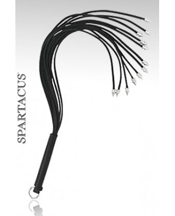 Fouet Spiked Thong Whip - Fouets, cravaches
