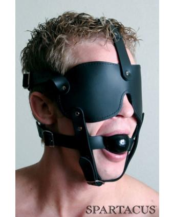 Masque harnais Black Fur Line - Cagoules, masques