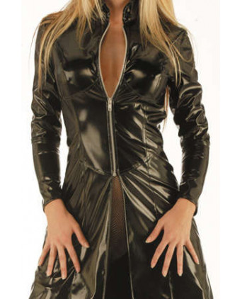 Manteau vinyle Matric - Lingerie vinyle femme