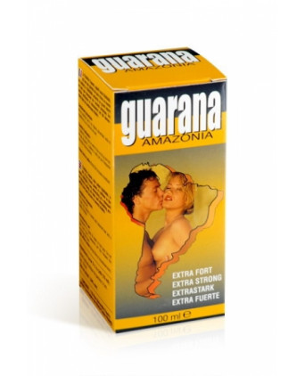 Guarana extra fort (100 ml) - Aphrodisiaques couple