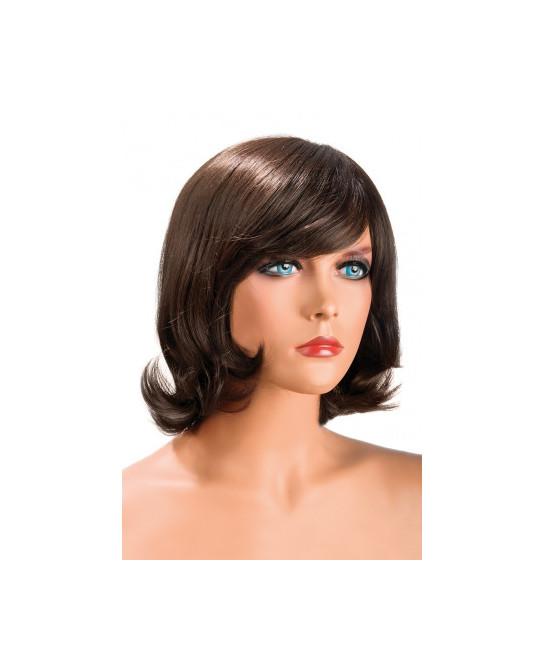 Perruque Victoria châtain - Perruques femme