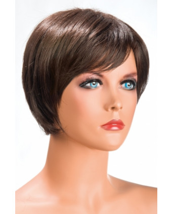 Perruque Daisy châtain - Perruques femme