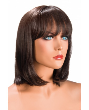 Perruque Camila châtain - Perruques femme