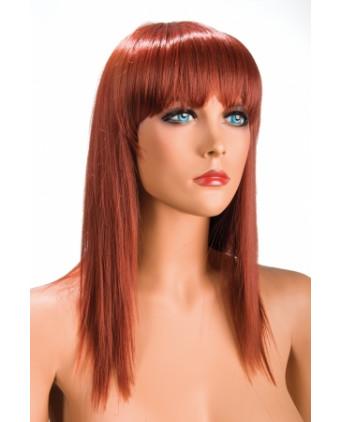 Perruque Allison rousse - Perruques femme
