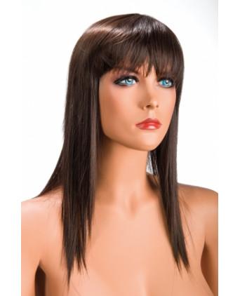 Perruque Allison châtain - Perruques femme