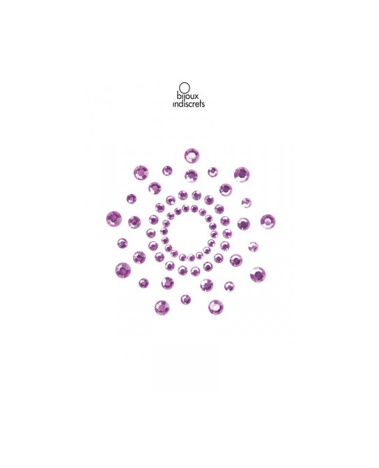 Bijoux de seins Mimi violets - Bijoux seins