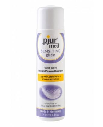 Lubrifiant Pjur Med Sensitive glide 100ml - Lubrifiants base eau