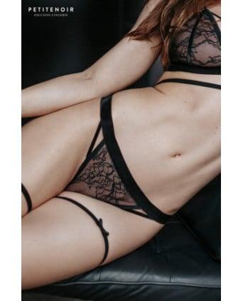 String dentelle et velours - Dessous Sexy
