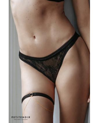 String tulle et dentelle - Dessous Sexy