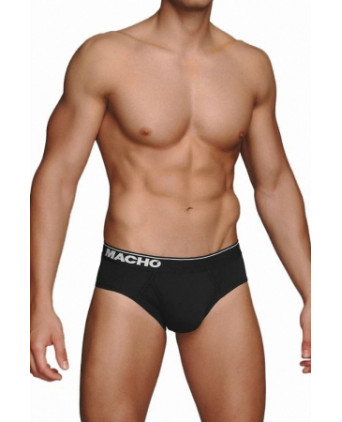 Slip MC088 noir - Slips et strings