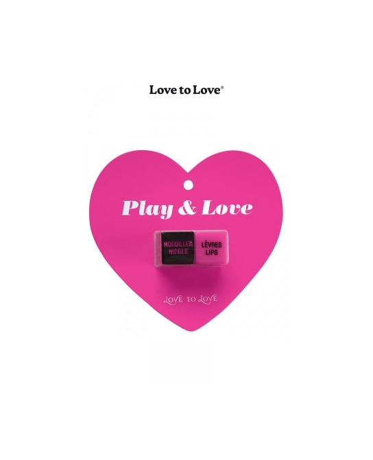Dés Play & Love - Jeux couple