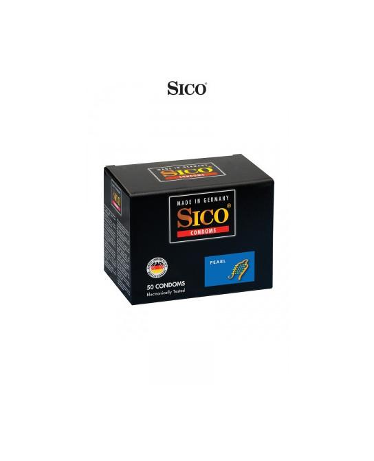 50 préservatifs Sico PEARL - Préservatifs