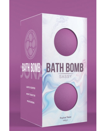 2 Bombes de bain Sassy - Dona - Relaxation, détente