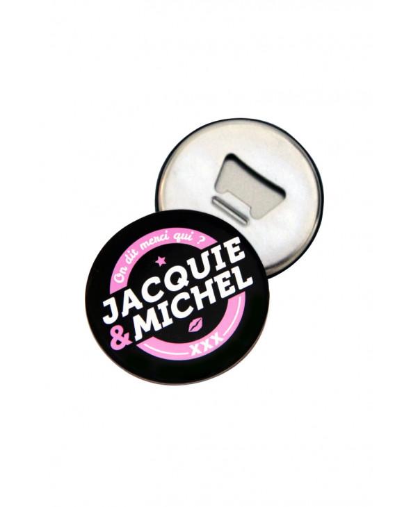 Magnet décapsuleur Jacquie et Michel - Décapsuleurs