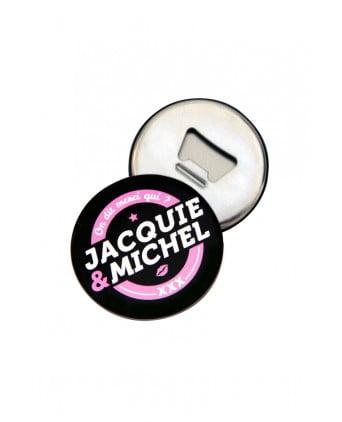 Magnet décapsuleur J&M - Jacquie et Michel