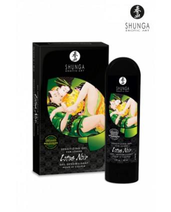 Gel sensibilisant Lotus Noir - Shunga - Aphrodisiaques couple