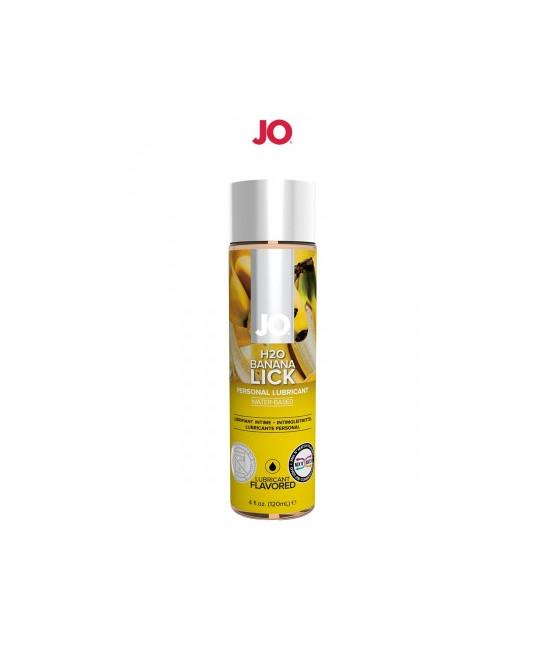 Lubrifiant aromatisé banane 120 ml - Lubrifiants base eau
