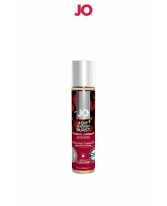 Lubrifiant aromatisé cerise 30 ml - Lubrifiants base eau