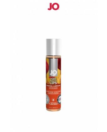 Lubrifiant aromatisé pêche 30 ml - Lubrifiants base eau