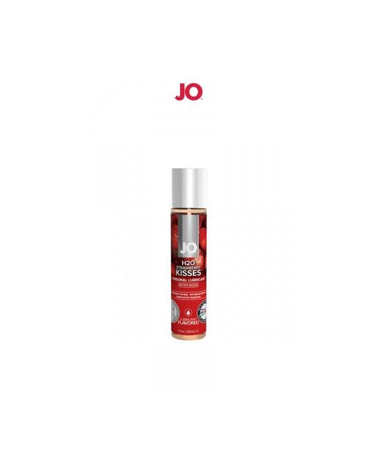 Lubrifiant aromatisé fraise 30 ml - Lubrifiants base eau