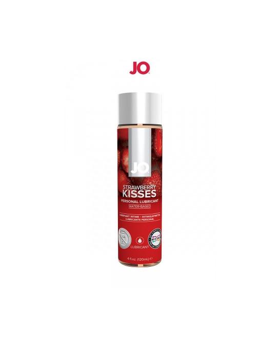 Lubrifiant aromatisé fraise 120 ml - Lubrifiants base eau