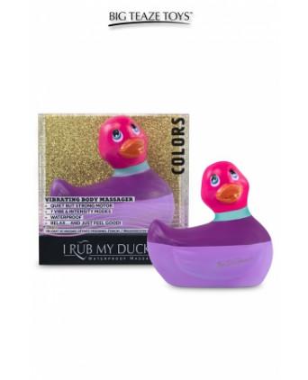 Mini canard vibrant Colors rose - Canards, Vibros Funs