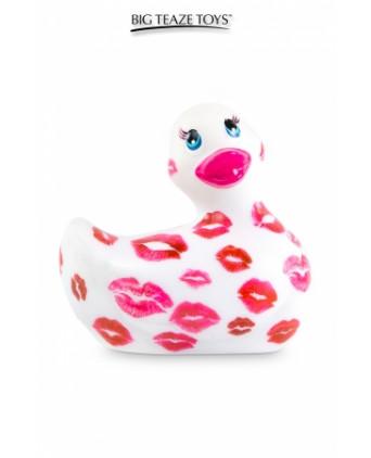 Mini canard vibrant Romance blanc et rose - Canards, Vibros Funs