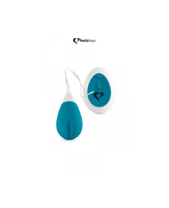 Oeuf vibrant Anna turquoise - Feelztoys - OEuf vibrant