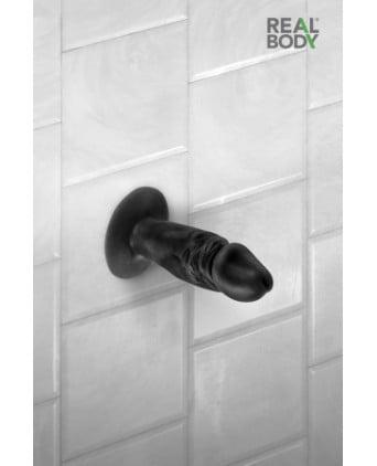 Plug anal réaliste noir 11 cm - Real Tim - Godes réalistes