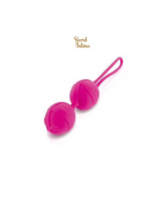 Boules de Geisha fuchsia Secret Intime - Sextoys