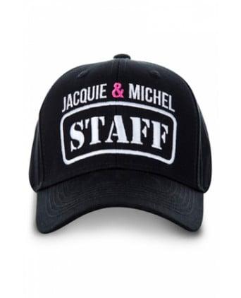 Casquette Jacquie et Michel Staff - noir - Bobs et Casquettes