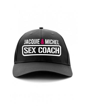 Casquette Jacquie et Michel Sex Coach - noir - Bobs et Casquettes